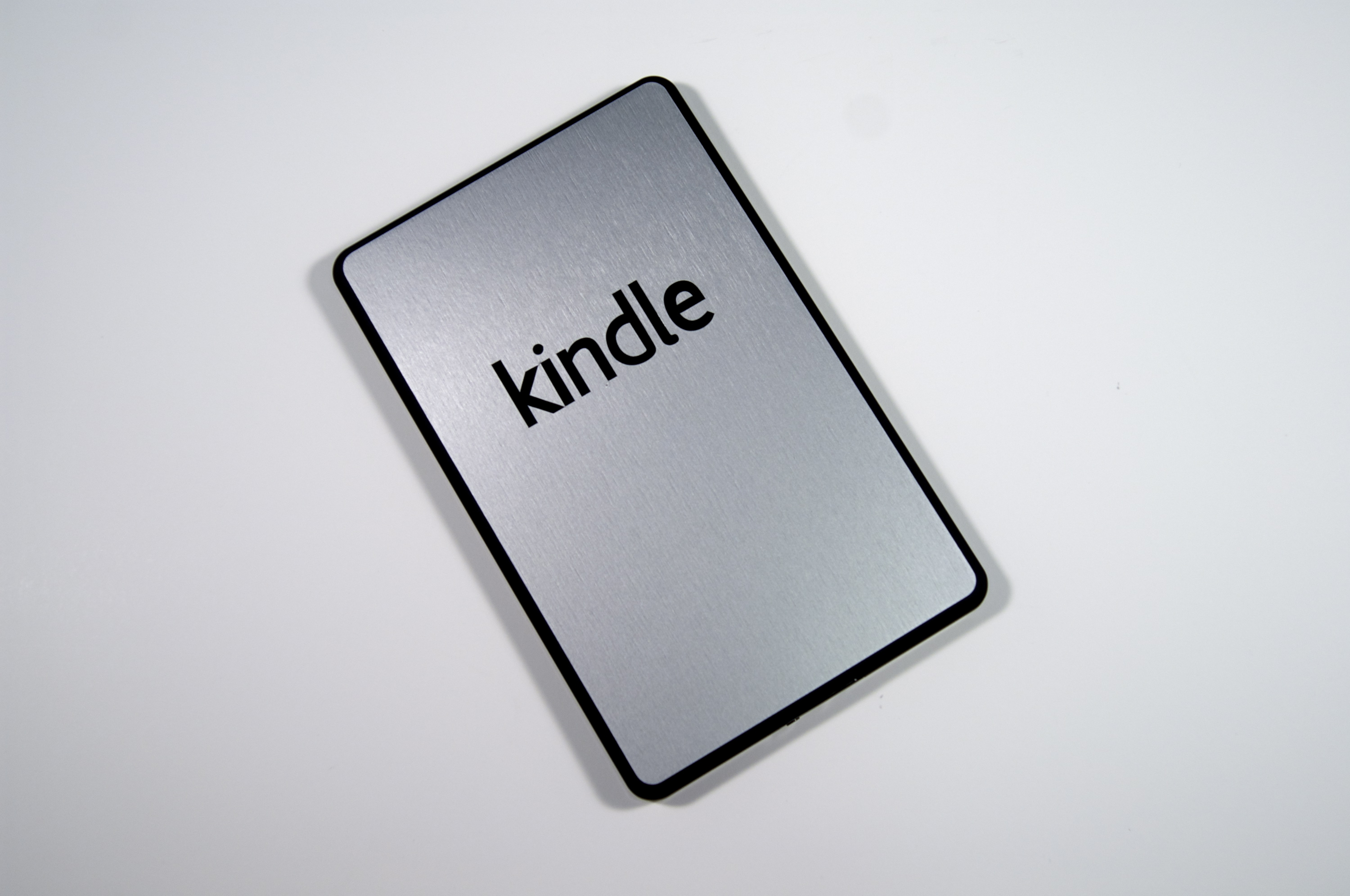 Stickerboy.net Kindle Fire Silver Brushed Skin