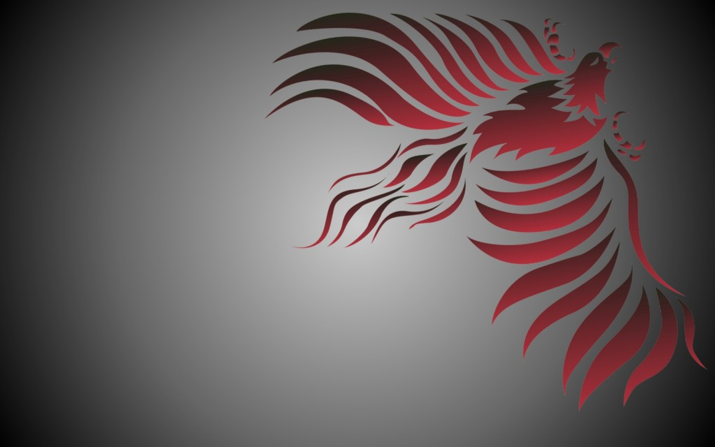 redblack-phoenix-bird-black-fantasy-firebird-grey-phoenix-red-rising-tribal
